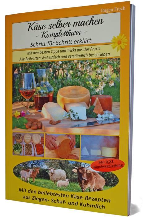 Gedrucktes Buch Käse selber machen