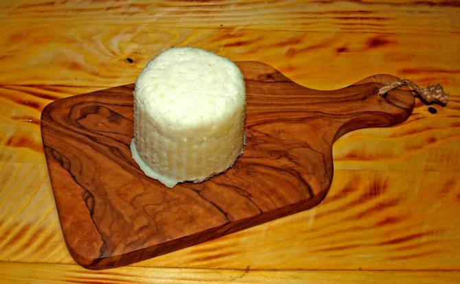 Paneer Käse kalträuchern oder auch heiß.